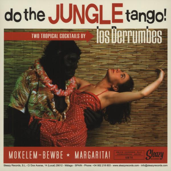 Los Derrumbes - Do The Jungle Tango b-w The Bondage Village 7inch, 45rpm, EP, PS