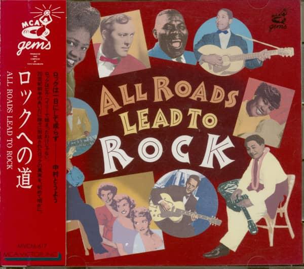 All Roads Lead To Rock (CD, Japan)