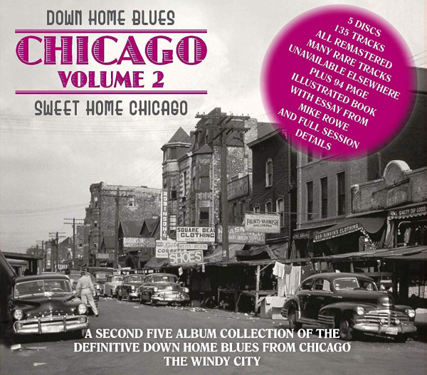 Down Home Blues Chicago 2 (5-CD)