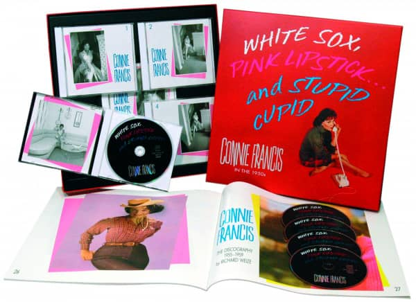 White Sox, Pink Lipstick...And Stupid Cupid (5-CD Deluxe Box Set)