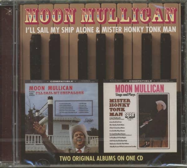 I'll Sail My Ship Alone - Mr. Honky Tonk Man (CD)