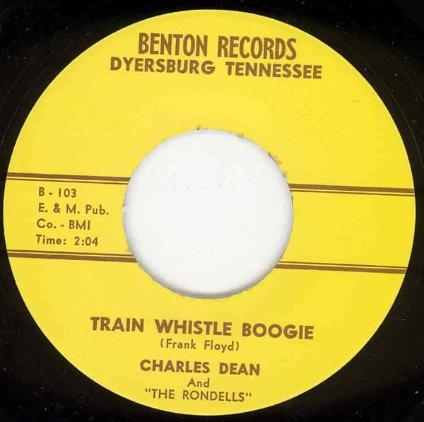 Train Whistle Boogie - Itchy (Instr.) (7inch, 45rpm)
