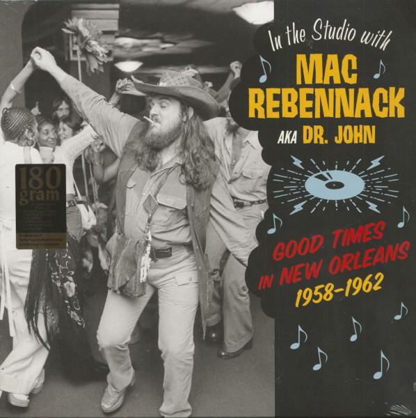 In The Studio With Mac Rebenack aka Dr. John - 1958-62 (LP, 180g Vinyl)