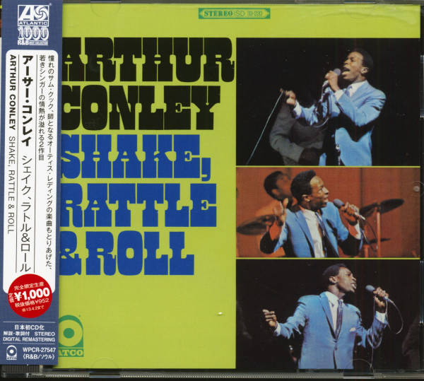 Shake Rattle & Roll (CD, Japan)