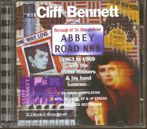 Cliff Bennett At Abbey Road - 1963-1969 (CD)
