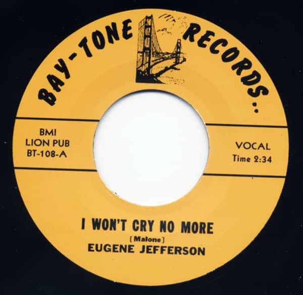 I Won't Cry No More - Too Young 7inch, 45rpm