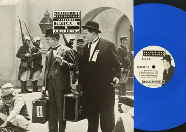 Another Fine Mess Records Presents - Stan Laurel & Oliver Hardy Vol.3 (LP, Blue Vinyl, Ltd.)