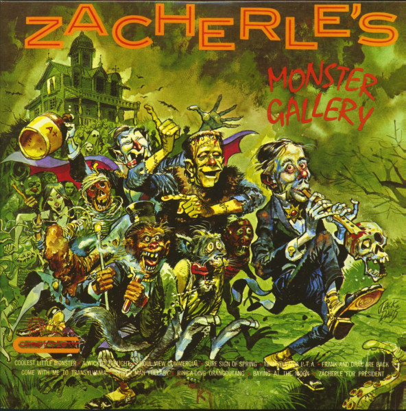 Zacherle's Monster Gallery (LP, Color Vinyl, Ltd.)
