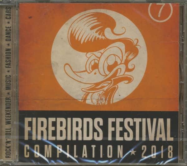 Firebirds Festival Compilation 2018 (CD)