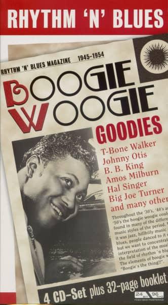 Rhythm 'n' Blues - Boogie Woogie Goodies (4-CD)