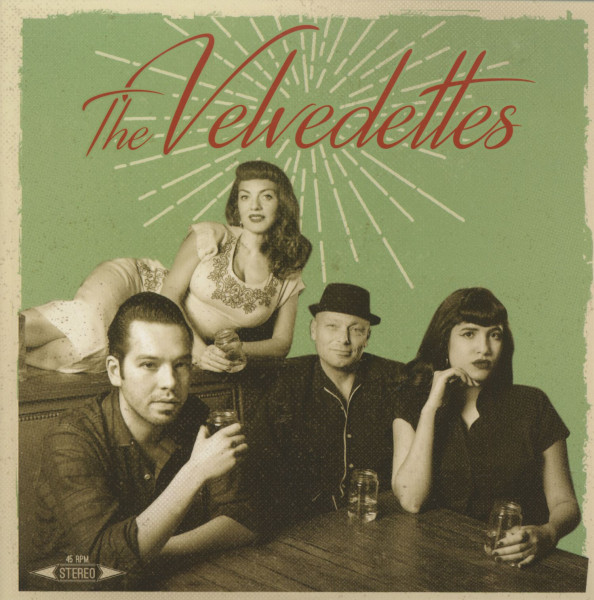 The Velvedettes (7inch, 45rpm, EP, PS)