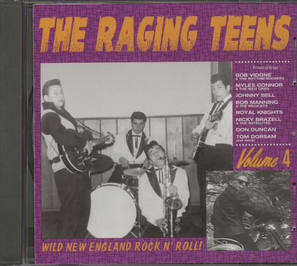 The Raging Teens - Wild New England Rock'n'Roll Vol.4 (CD)