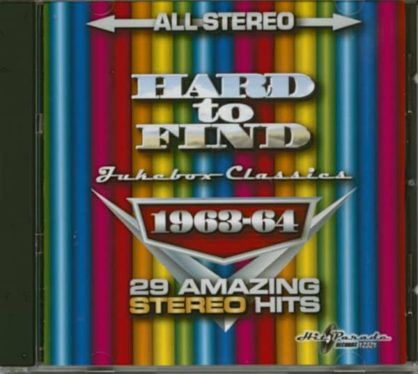 Hard To Find Jukebox Classics 1963-64: 29 Stereo Hits (CD)