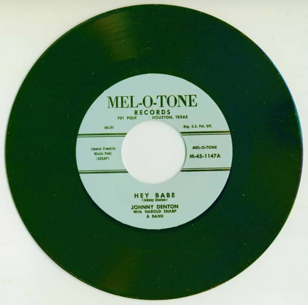 Hey Babe - Down By The Mill (7inch, 45rpm)