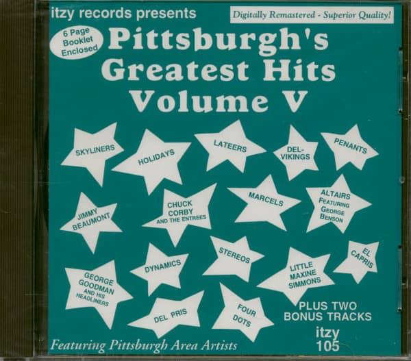 Pittsburgh's Greatest Hits Vol. 5 (CD)