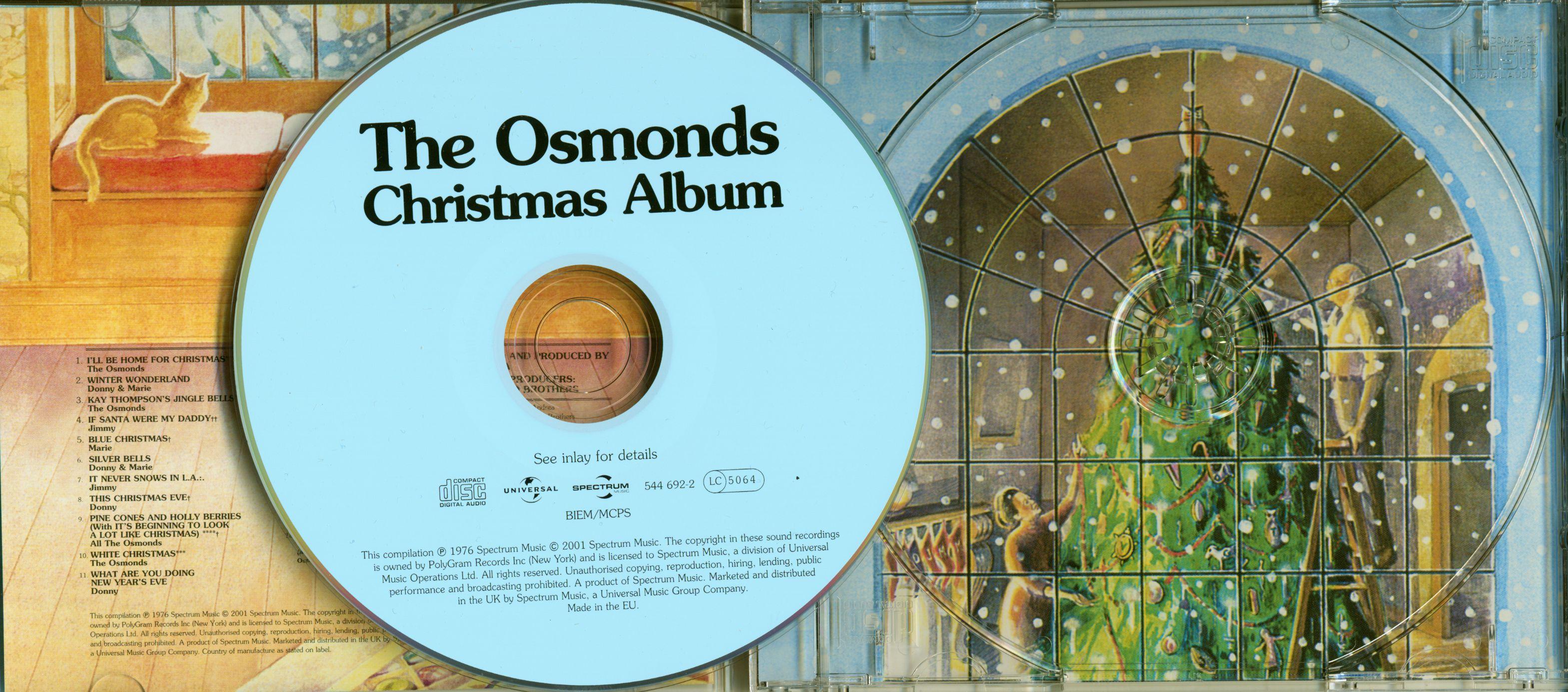 ... Preview: The Osmonds Christmas Album