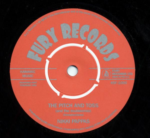 Nikki Pappas - The Fireballs U.K. 7inch, 45rpm