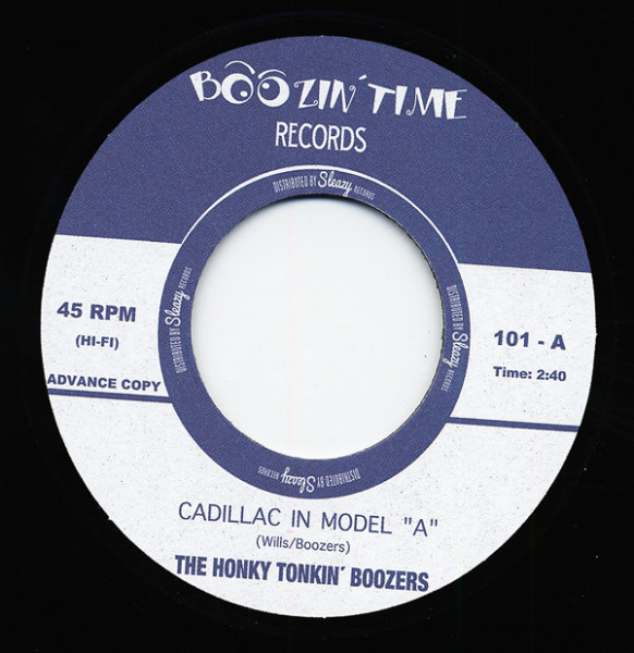 Cadillac In Model A 7inch, 45rpm, EP