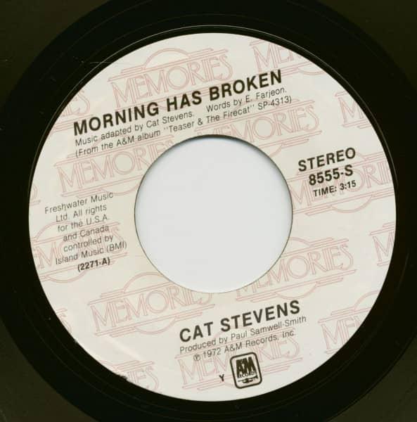 Morning Has Broken - Where Do The Children Play (7inch, 45rpm)