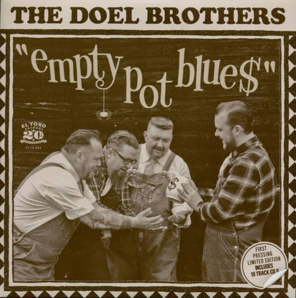 Empty Pot Blues (7inch, 45rpm, PS, + Bonus CD)