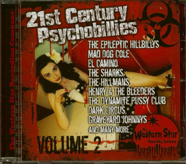 21st Century Pychobillies Vol.2 (CD)