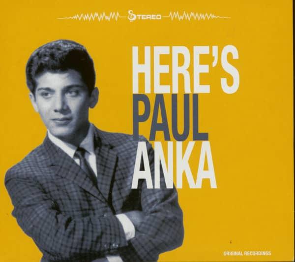 Here's Paul Anka (CD)