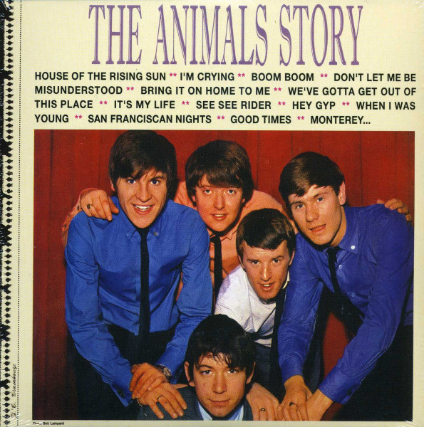 The Animals Story - Papersleeve