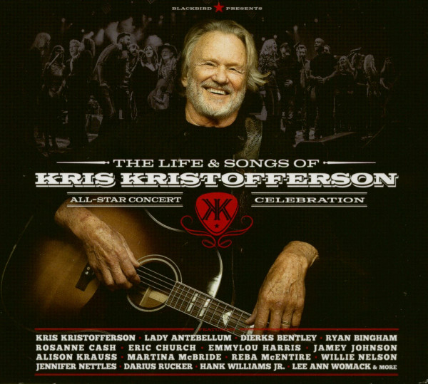 The Life & Songs Of Kris Kristofferson (2-CD&DVD)