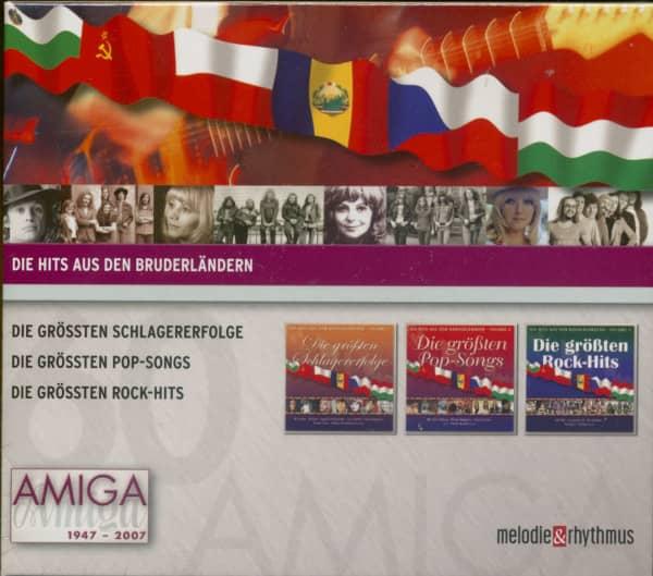 Die Hits aus den Bruderländern 3-CD