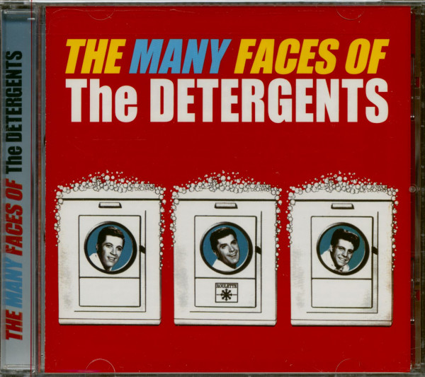 The Many Faces Of The Detergents (CD)