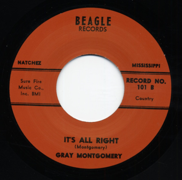 Right Now b-w It's All Right 7inch, 45rpm