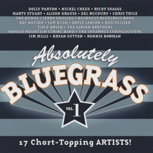 Absolutely Bluegrass - 17 Chart Topping Arti