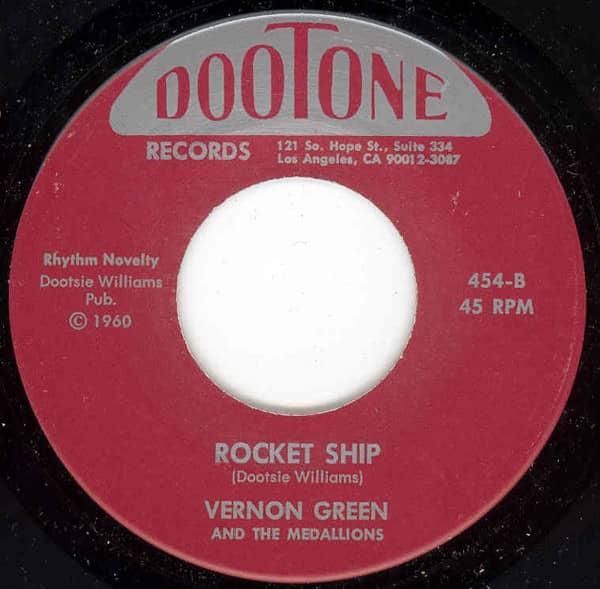 Behind The Door - Rocket Ship 7inch, 45rpm