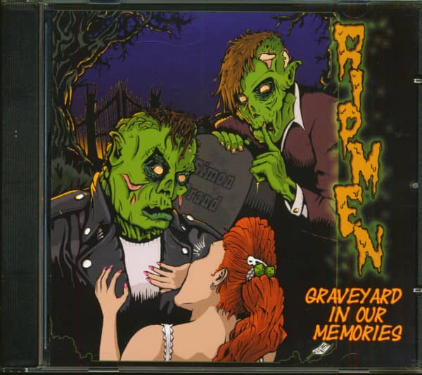Graveyard In Our Memories (CD)