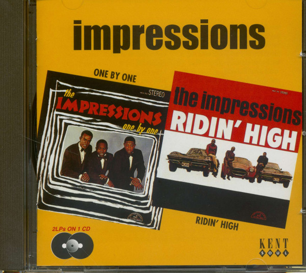 One By One - Ridin' High (CD)