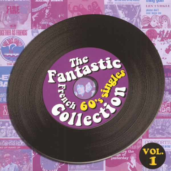 Fantastic French 60's Singles Colletion 2-CD