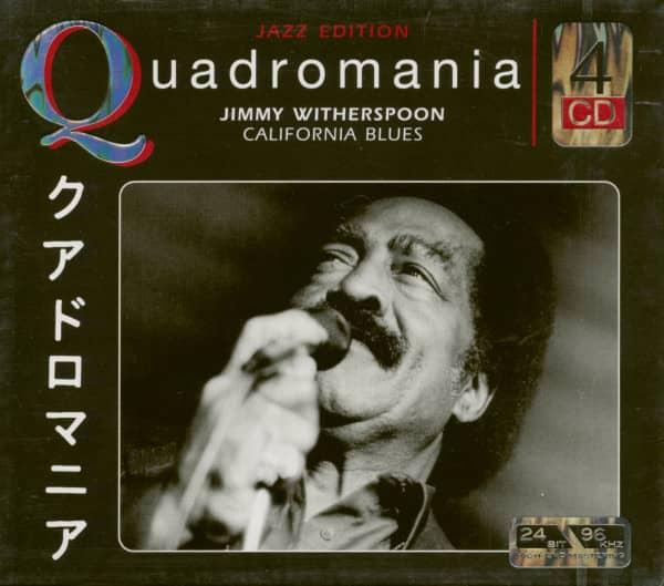 Quadromania - California Blues (4-CD)