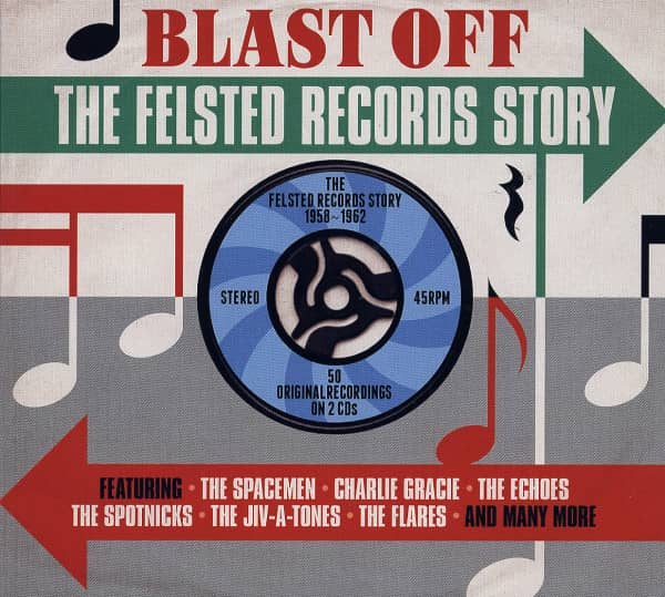 Blast Off - The Felsted Records Story (2-CD)