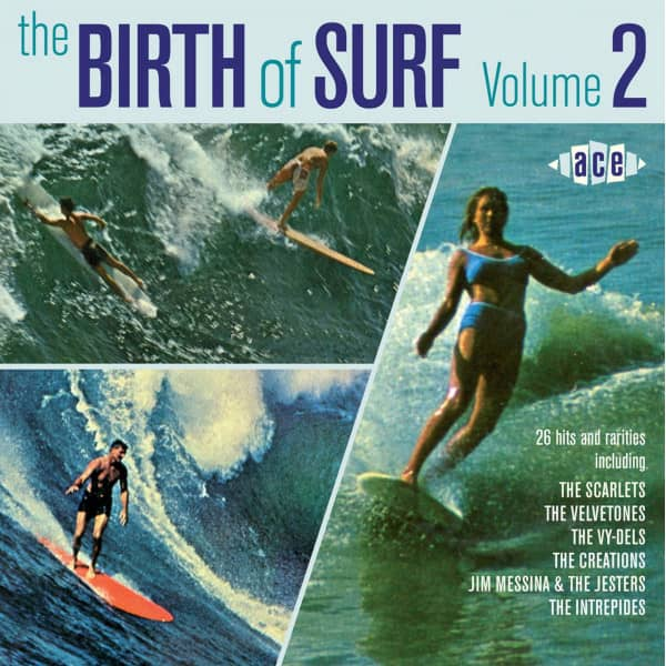 The Birth Of Surf Vol.2 (CD)