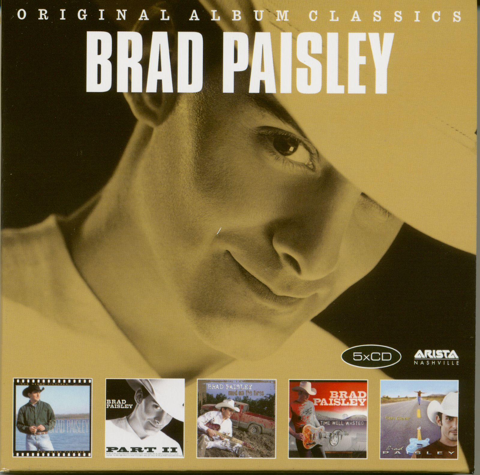 Brad Paisley CD: Original Album Clics (5-CD) - Bear Family Records on the cable box, the dark box, the nut box, the gravity box, the power box, the gamble box, the resistance box, the element box, the light box, the red box, the golden box, the screw box, the breaker box, the pump box, the gear box, the doom box, the style box, the valve box, the toy box, the fuel box,