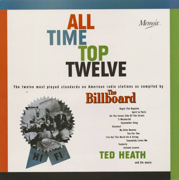 All Time Top Twelve (LP)