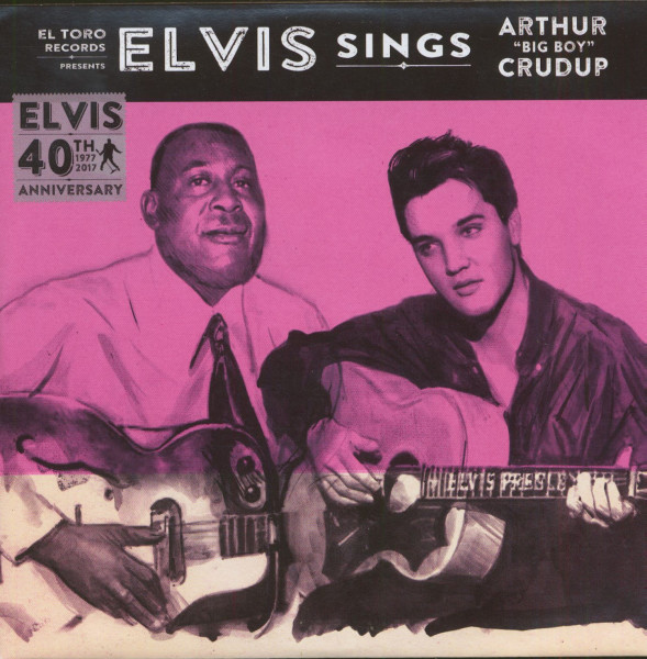 Elvis Sings Arthur 'Big Boy' Crudup (7inch, EP, 45rpm, PS)