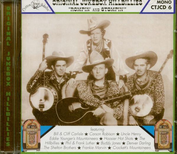 Rompin' And Stompin' - Original Jukebox Hillbillies (CD)