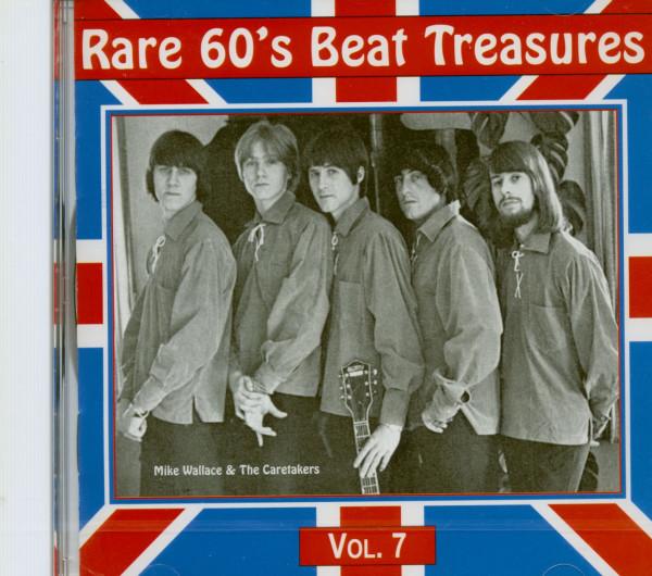Rare 60's Beat Treasures, Vol.7 (CD)