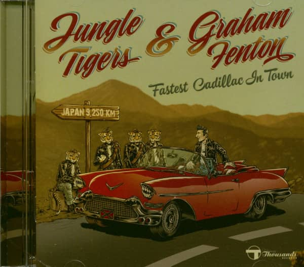 Fastest Cadillac In Town (CD)