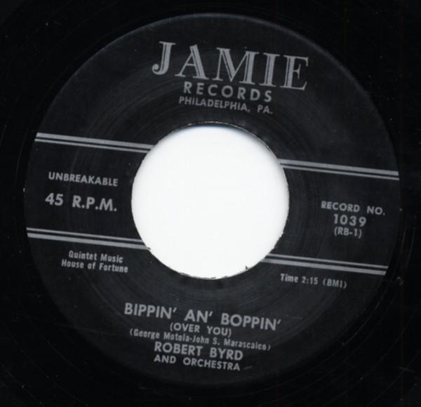 Bippin' An' Boppin' b-w Strawberry Stomp 7inch, 45rpm