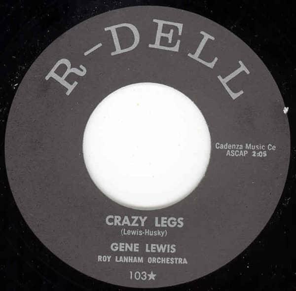 Crazy Legs b-w S'Posin'You Were Mine 7inch, 45rpm