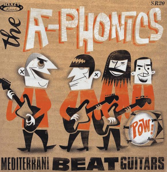 Mediterrani Beat Guitars 7inch, 45rpm, PS EP