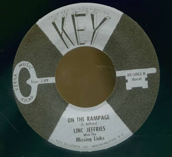 Pitch Black - On The Rampage (7inch, 45rpm)