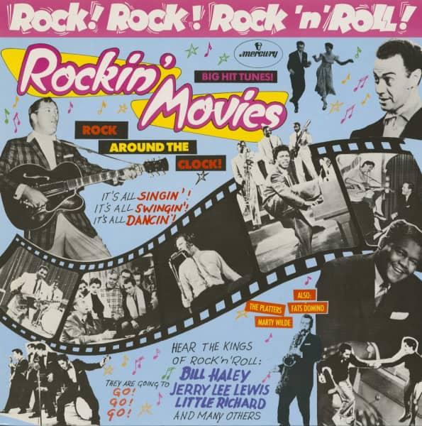 Rockin' Movies - Rock! Rock! Rock'n'Roll! (LP)